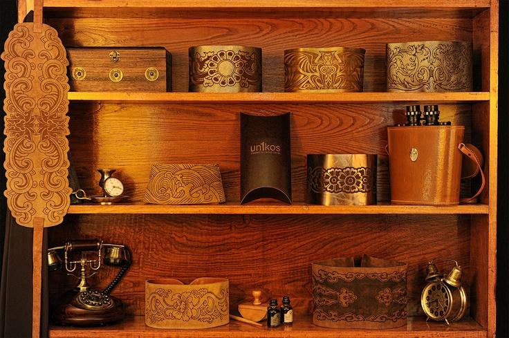 colección fajines en piel de www.un1kos.com