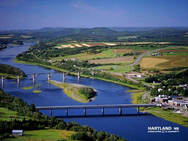 Hartland NB covered bridge