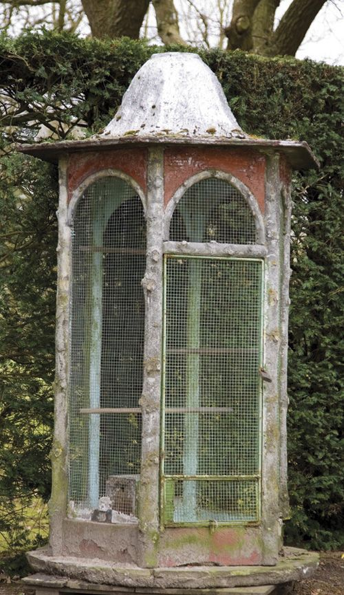 An Antique Aviary.........so sweet.........Summers Place Auctions Ltd