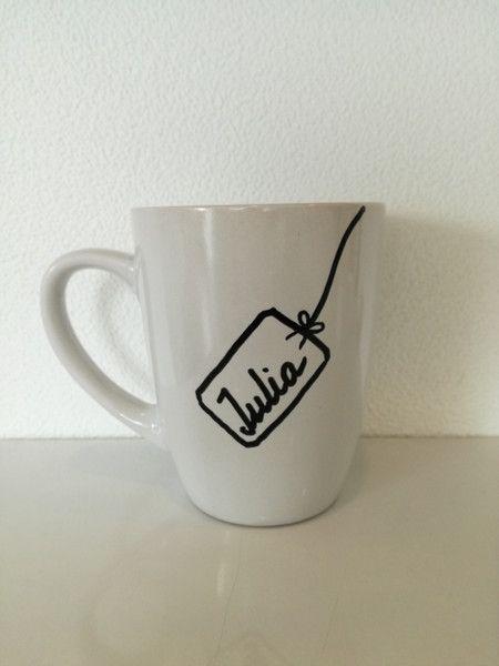 Becher & Tassen - Namenstasse Geschenk Freundschaft Tasse mit Name  - ein Designerstück von Tassen-Shop bei DaWanda