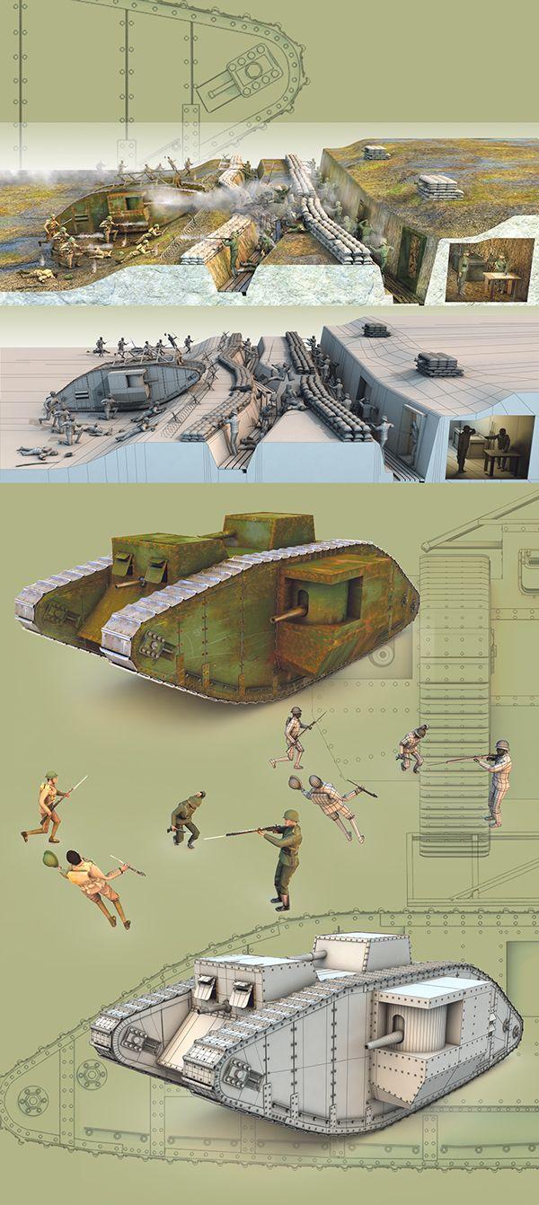 WW1 on Behance