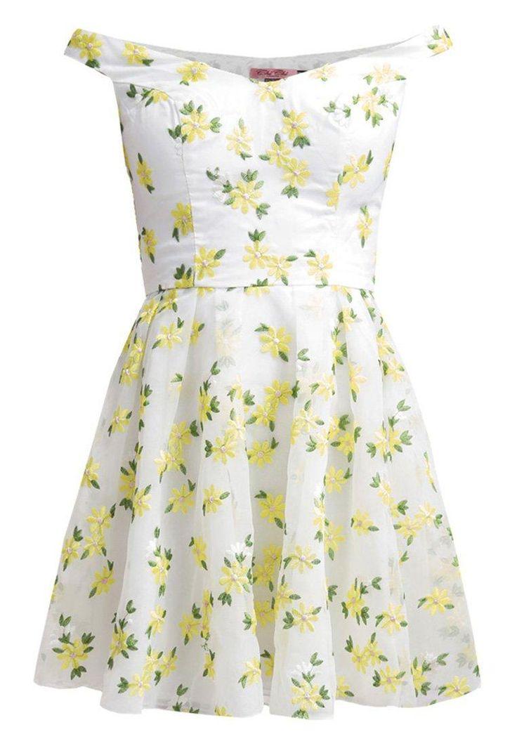 Sukienka w kwiaty Chi Chi London