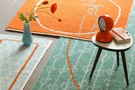 """handmade colorful rugs - """"TP"""", tre famiglie di tappeti fatti a mano in Sardegna, con lana di pecore sarde, con tecnica sarda."""