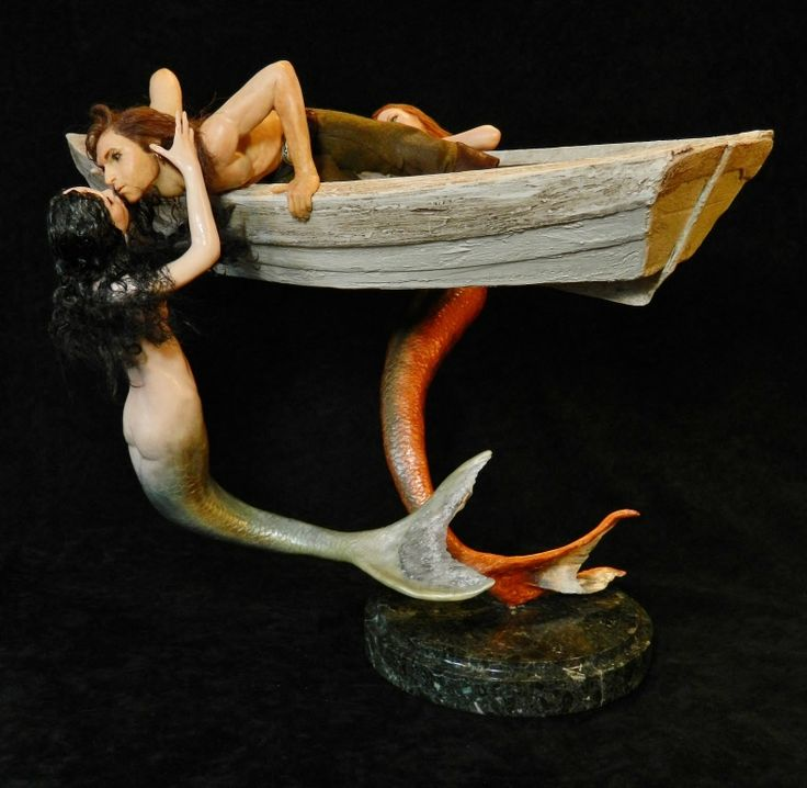 Mermaids And Sailor 007 2 By MADSculptordeviantartcom On DeviantART Most Beautiful