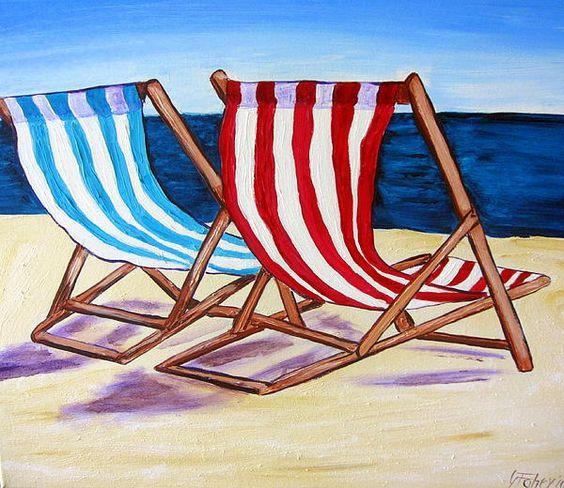 beach chairs- Gillian Fahey