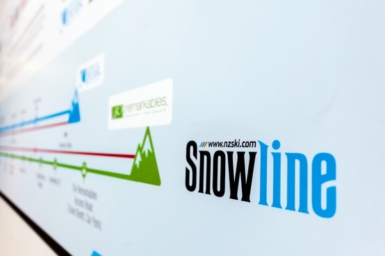 NZSki Snowline logo design