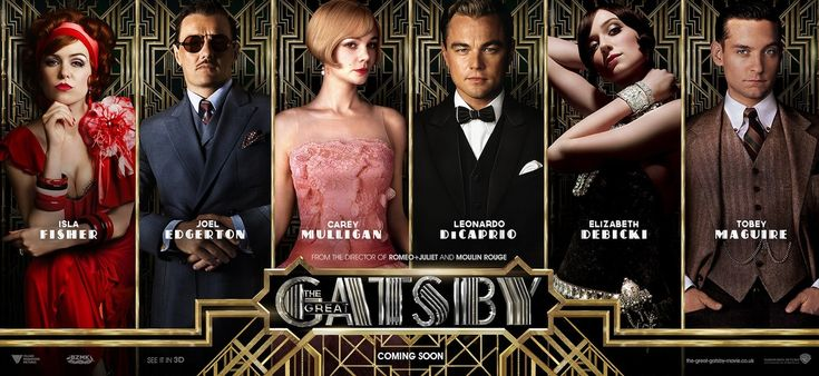 It's our Movie of the Week - The Great Gatsby, 5/6/13 -- http://www.movieroomreviews.com/great-gatsby/motw-baz-luhrmann-and-great-gatsby-143578