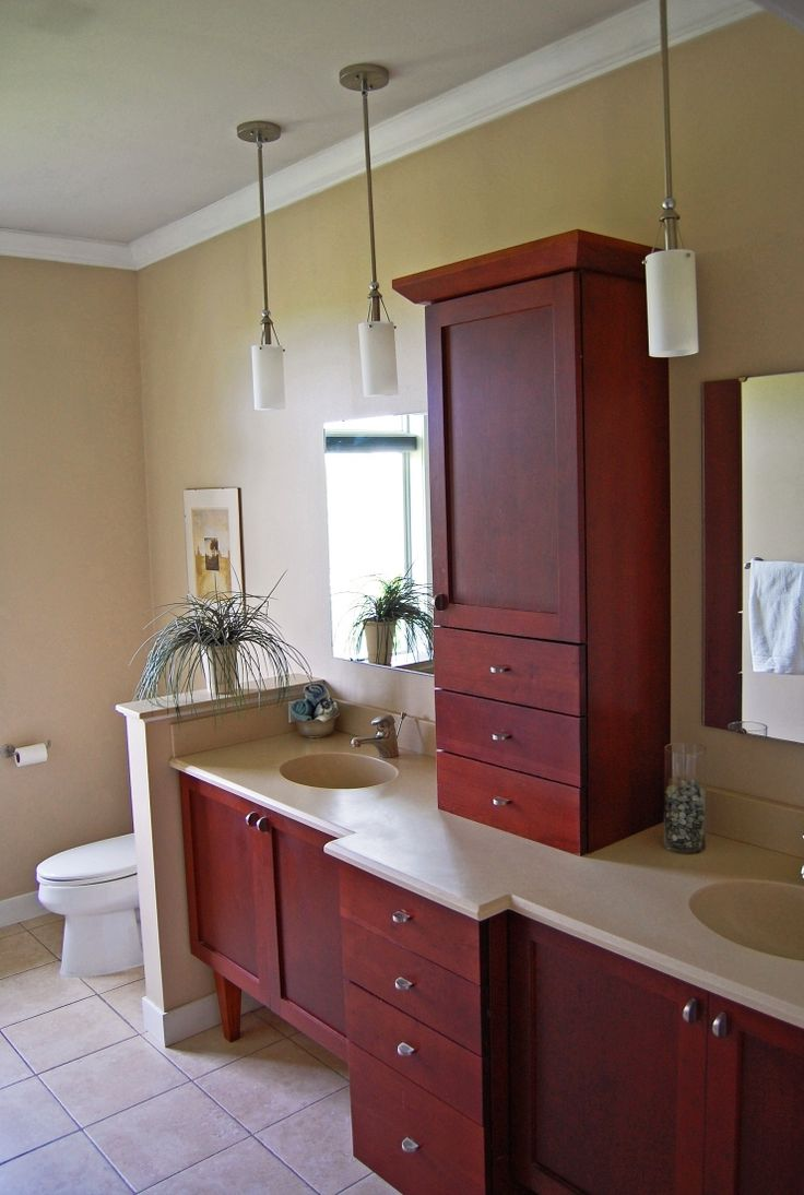 97 Best Cherry Wood Vanities Images On Pinterest  Bath Vanities Entrancing Cherry Bathroom Vanity Design Inspiration