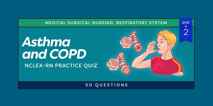 Respiratory problems are the common reasons for admission to the intensive care unit (ICU) and common comorbidity in patients admitted for acute care. Here is another 50-item NCLEX style exam that covers the diseases affecting the Respiratory System. These questions will challenge your knowledge about the concepts behind Bronchial Asthma, COPD, Pneumonia and many more.