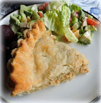 French Canadian Salmon Pie (The English Kitchen)