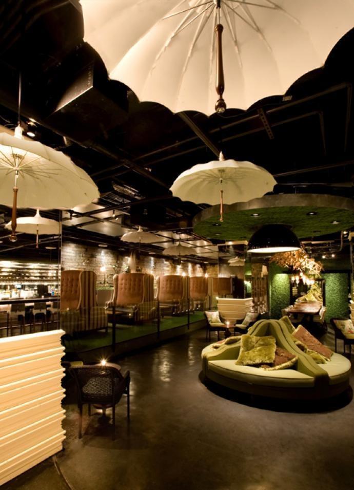 Vin de Syrah in San Diego. An Alice in Wonderland themed bar/lounge located underground <3