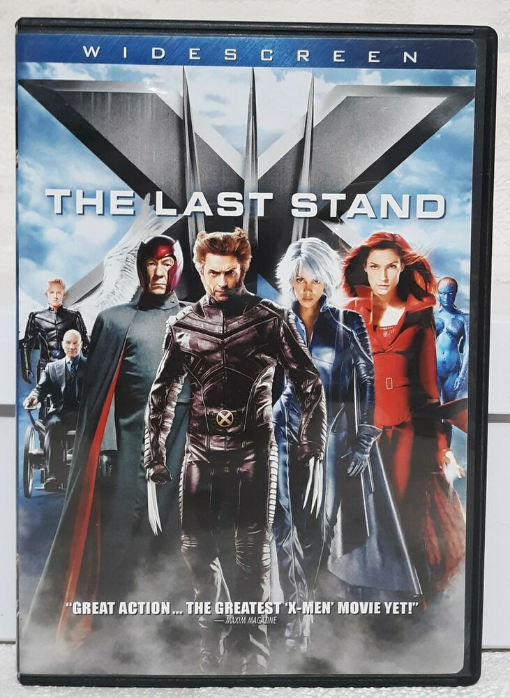 X Men The Last Stand 2006 Dvd Hugh Jackman Ian Mckellen Patrick Stewart X Men Avengers Assemble Movie The Hobbit Movies