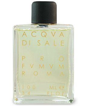 """Profumum """"Acqua di sale"""" (aroma of salt on the skin, myrtle, cedarwood, marine algae)"""