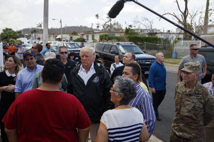 President Trump has called for Puerto Rico to have its crippling debt forgiven and said it's tough luck for the Wall Street holders of the debt.