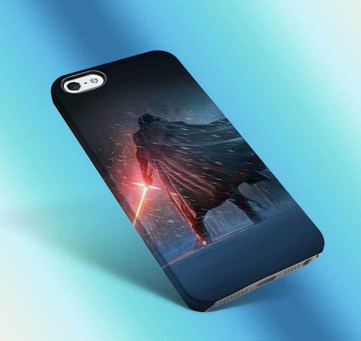 kylo ren using light red star wars vintage, force awaken iphone case 3d 6 6s 4 #UnbrandedGeneric