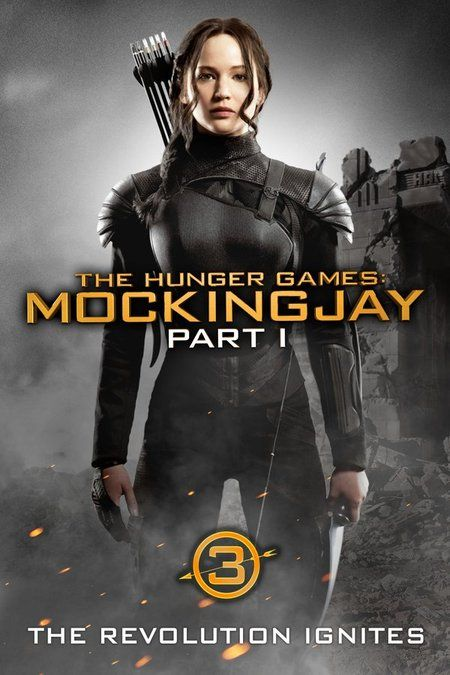 Newly Redesigned Cover Art for The Hunger Games Films