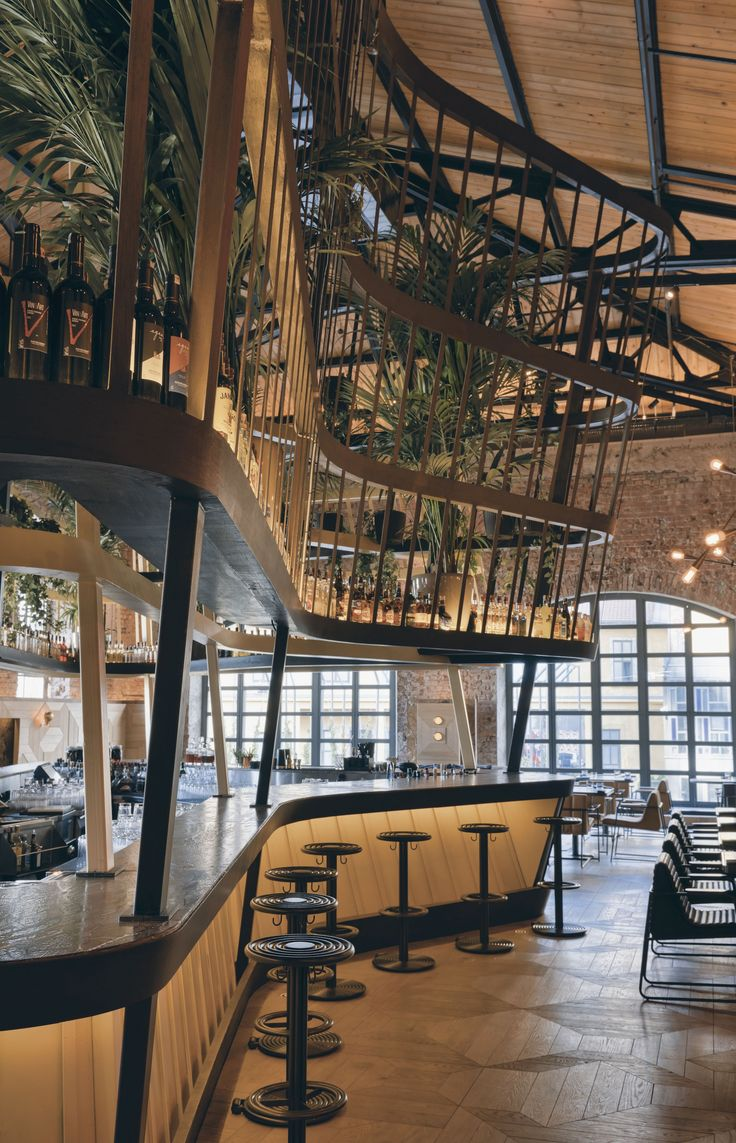 Luxury Interior Design From Studio Autoban Restoring Bomonti Historic Brewery To Create An Iconic Bar