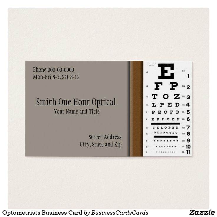 21 best Optometrist Ophthalmologist Eye Doctor Business Cards images ...