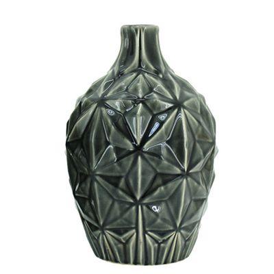 Anubis Vase - Black 30.5cm from www.designarthouse.com.au.  Anubis Vase in a black finish.   Dimensions: 19.5 x 30.5cm