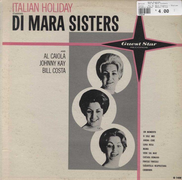 The Di Mara Sisters - Italian Holiday Starring Di Mara Sisters