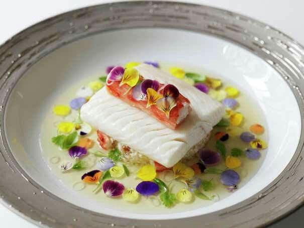 Elegant dishes by Gordon Ramsay