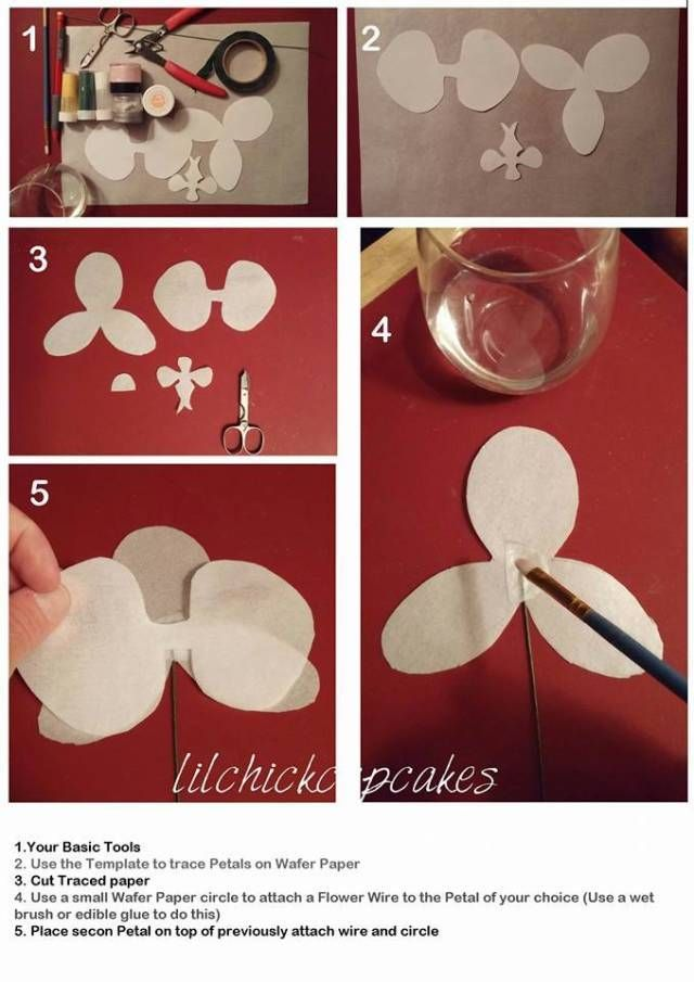 Hi everyone as promised here it is ..the Wafer paper Tutorial… This is a guideline on how to go about them and this is how i figured them out ..possibilities are endless and this is my first tutorial so i hope everyone can find it use full and...