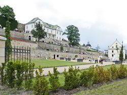 Jižní zámecké zahrady zámku Děčín