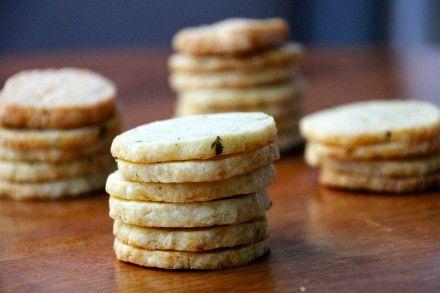 Cheddar Cheese Coins Recipe #Thanksgivukkah