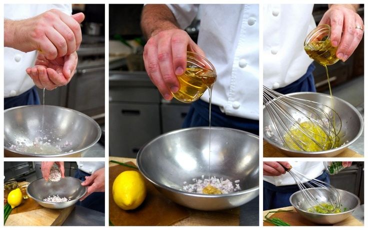 Whisk all ingredients together in a bowl and season with salt.