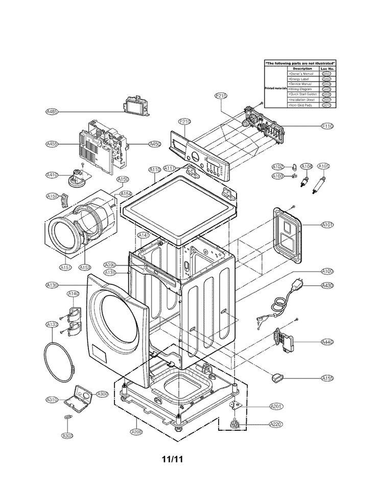 LG WASHER Parts | Model wm3987hw | Sears PartsDirect