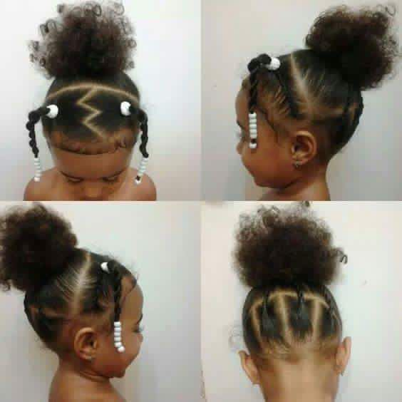 african american children hair