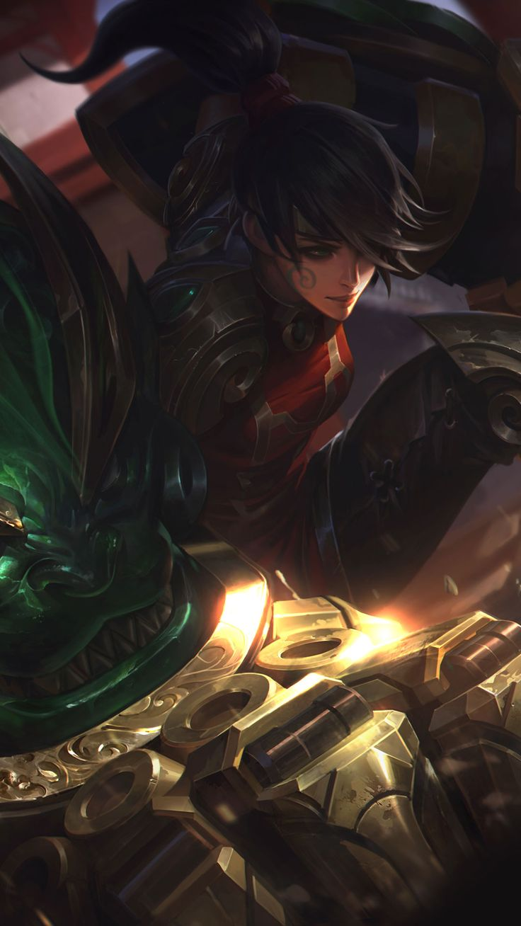 Warring Kingdoms Vi Skin android, iphone wallpaper, mobile background