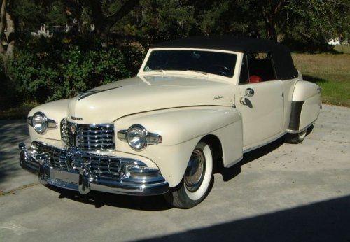 Lincoln Continental Cabriolet cream - 1948 - Picture 03B29584892442A