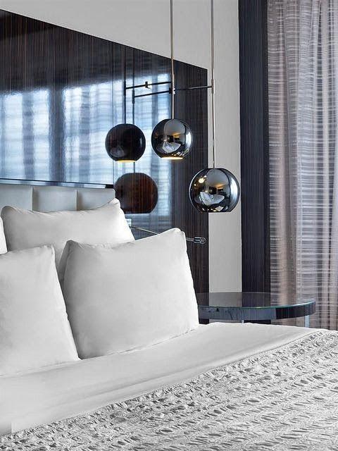 Blog de decoração Perfeita Ordem: Quartos ... Iluminação que proporciona aconchego