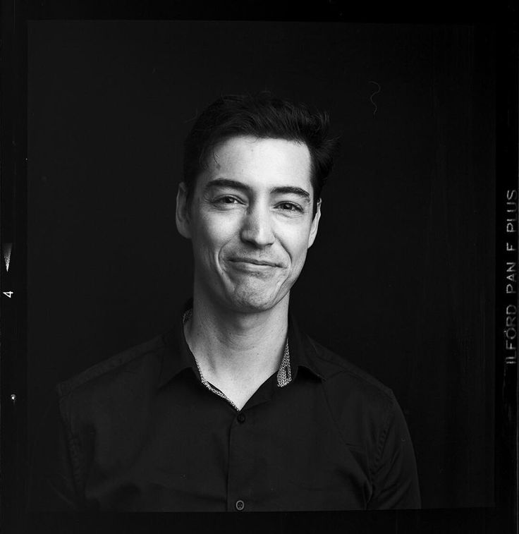Sean. #ilford #ilfordpanf #panf #adonal #rodinal #studio #photography #bne #brisbane #broncolor #portrait #hasselblad #500cm #zeiss #80mm