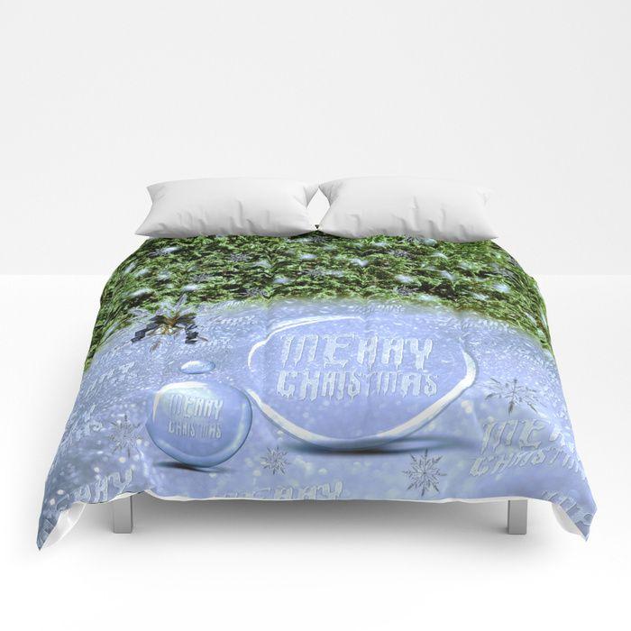 #comforters by #Looly_Elzayat #society6 #merrychristmas #christmas #christmasgifts #christmasgiftideas #bedroom #bedroomdecor .....https://society6.com/product/merry-christmas863164_comforter?curator=loolyelzayat