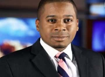 A Phoenix TV station said a reporter is no longer with the network after he was arrested for defecating in a resident's yard while working on a field report.
