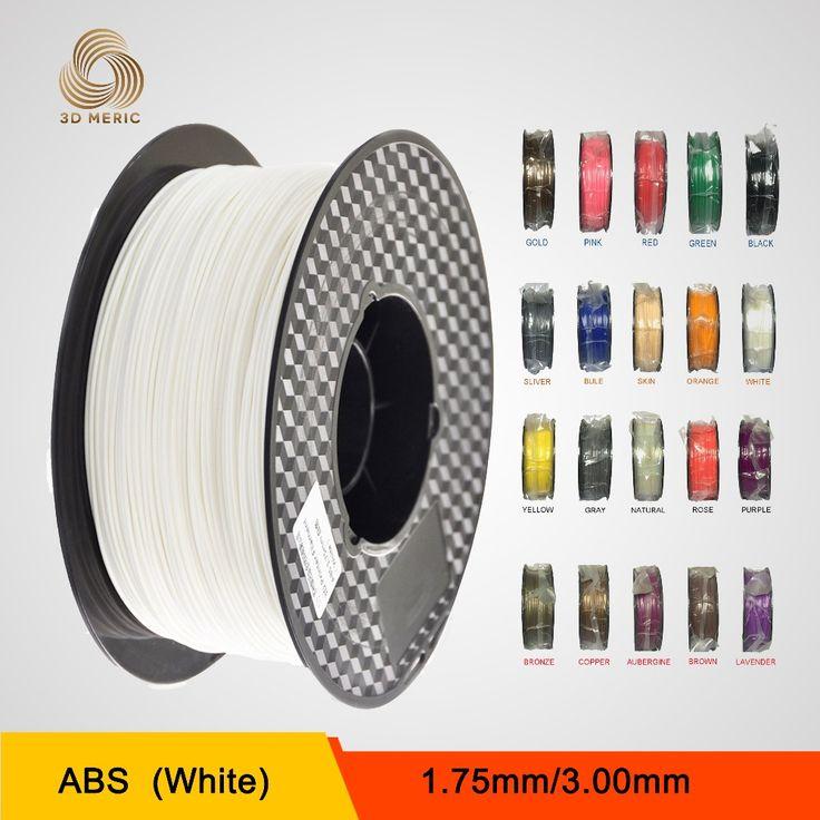 1.75mm ABS Filament Spool 1kg 3D Printer Supplies Makerbot, Mendel, Prusa, Huxley, BFB3000 series