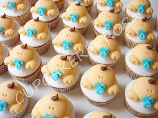 CUPCAKERIA ROSA - Cupcakes em Curitiba: chá de bebê