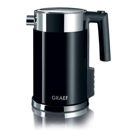 Graef - Perfect Temperature Acrylic Black Kettle WK702.UK