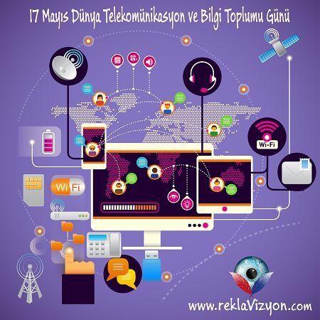 #17Mayıs #Dünya #Telekomünikasyon ve #Bilgi #Toplumu #Günü #17May #World #Telecommunication and #Information #Society #Day #Reklam #Ajansı #Tanıtım #Promosyon #Matbaa #Işıklıtabela #Dijitalbaskı #Strafor #Web #İşKıyafetleri #Kurumsal #reklavizyon Reklavizyon Reklam Ajansı www.reklavizyon.com