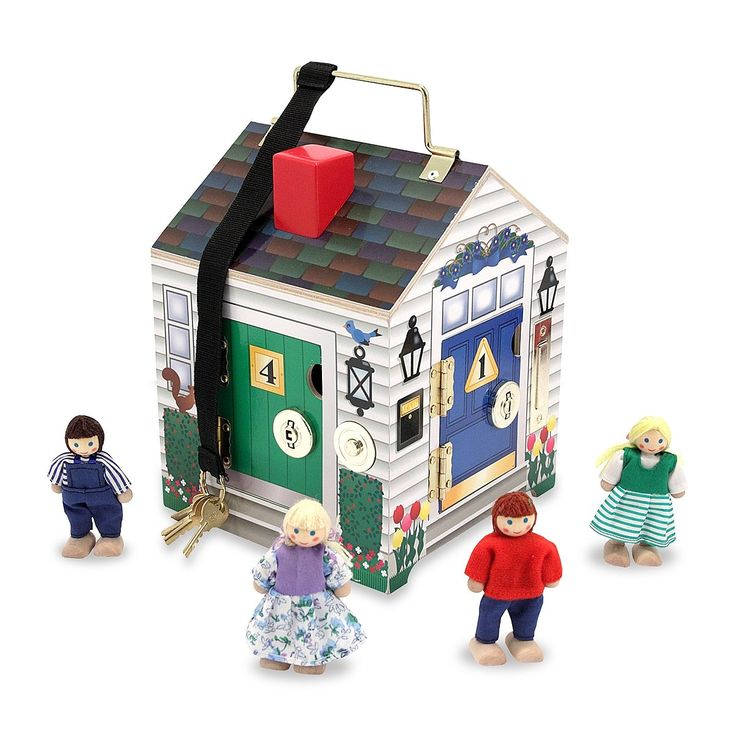 Melissa & Doug Doorbell House: Amazon.co.uk: Toys & Games