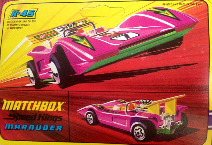 1972 Matchbox Speed Kings marauder