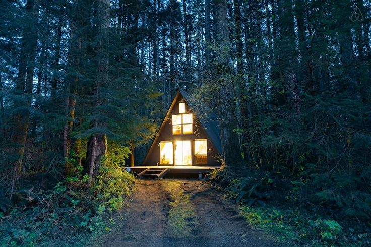 Snuggle up and enjoy the surrounding scenery at one of these cabin Airbnbs
