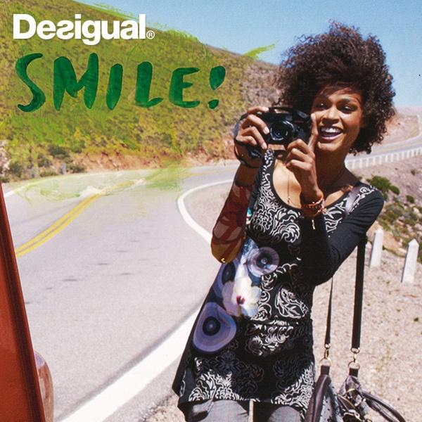 SMILE! Desigual ADDIE Shirt by Desigual