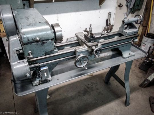 VM Works New to me Logan 200 lathe. Fits nice in the shop.