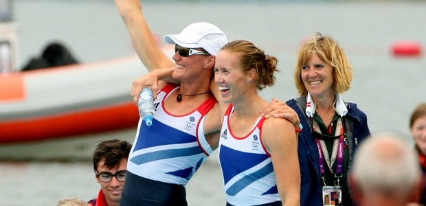 Heather Stanning and Helen Glover win gold at Olympics 2012