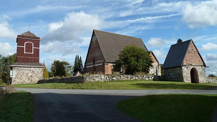 Hattula The neo-Gothic church (arch. Bernhard Lohrmann 1852–57) - Hattulan kirkko, Hämeenlinna (Uusgoottilainen)
