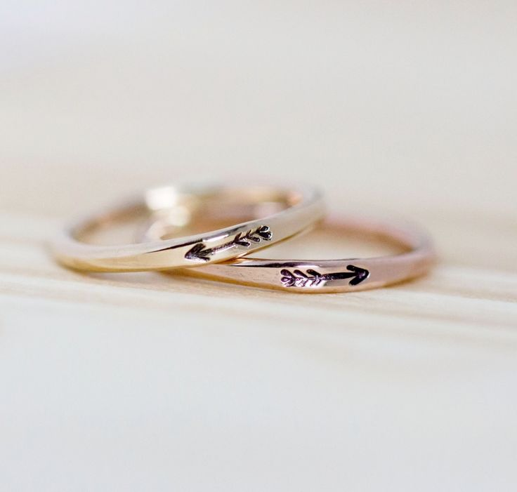 Arrow ring, 14k Gold filled arrow ring, Gold arrow ring, Arrow stacking ring, Stacking ring, Engraved ring, Gold ring, Personalized ring by AdorablySimpleDesign on Etsy https://www.etsy.com/listing/194967137/arrow-ring-14k-gold-filled-arrow-ring