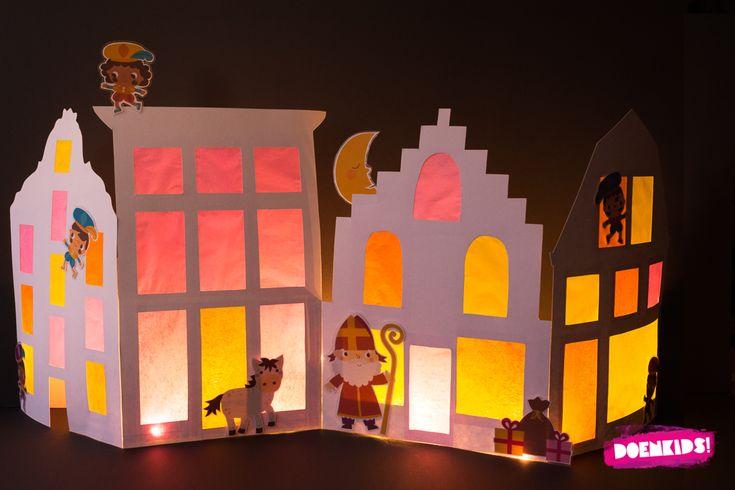 Hij komt, hij komt! Die lieve goede Sint! Het DoenKids e-book Sinterklaas voor BSO en KDV bevat 93 pagina's materiaal voor het kinderfeest. Voor deze knutsel zijn de prachtige illustraties, gemaakt…